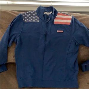 Vineyard Vines American Flag Shep Shirt